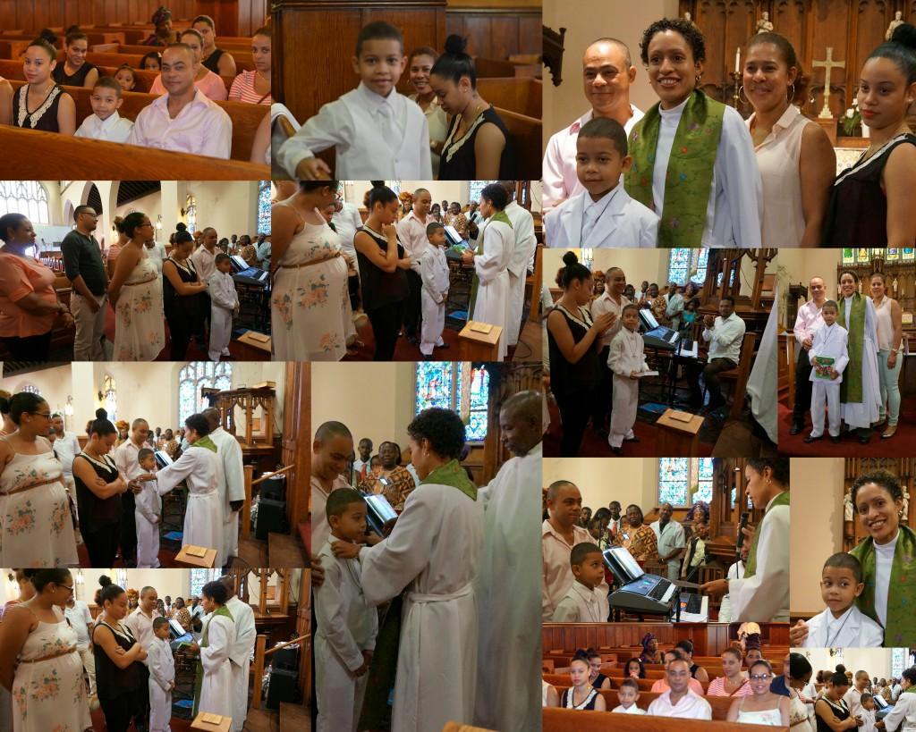 Christ Church ISJ Erick Monegro First Communion 7 28 13
