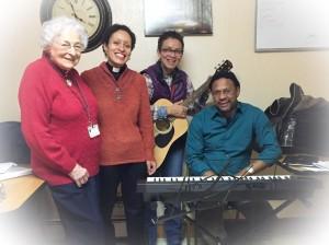 Christ Church/Iglesia de San Juan music program performing Christmas carols at the Fairmount Rest Home
