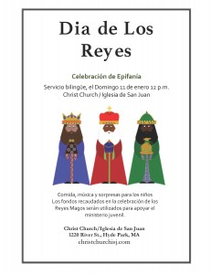 Three Kings Flyer Spanish 2014