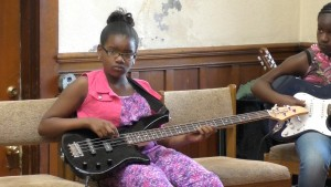 Valentina bass player